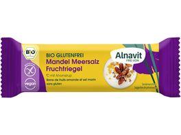 Alnavit Bio Mandel Meersalz Fruchtriegel glutenfrei