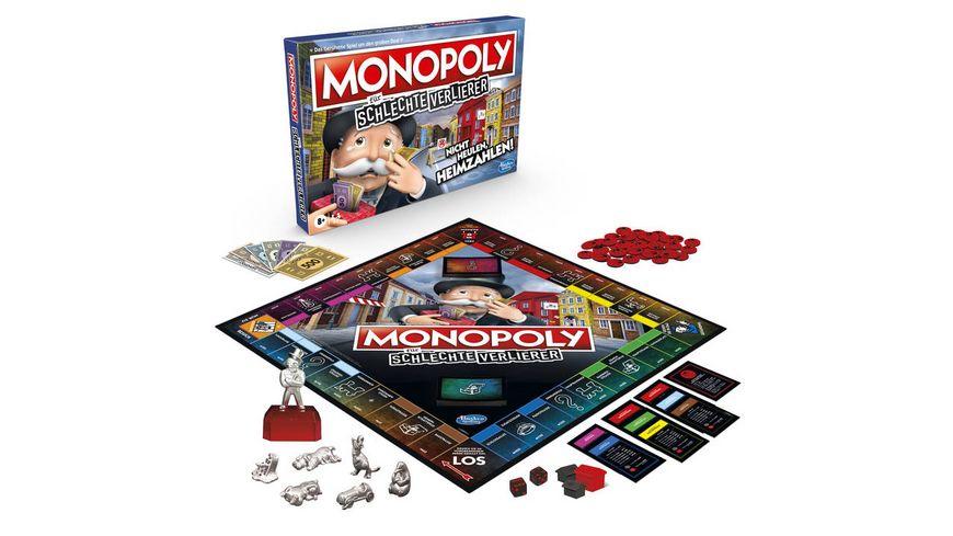 Hasbro - Monopoly für schlechte Verlierer