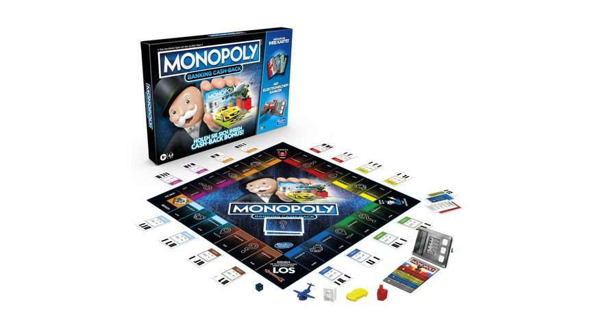 Hasbro - Monopoly Banking Cash-Back