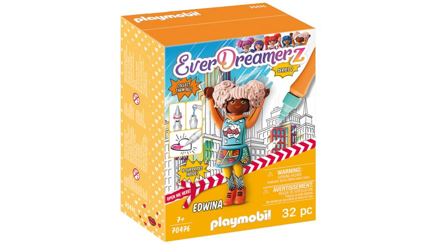 PLAYMOBIL 70476 - EverDreamerz - Edwina - Comic World
