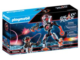 PLAYMOBIL 70024 Galaxy Police Galaxy Pirates Roboter