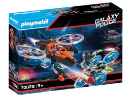 PLAYMOBIL 70023 Galaxy Police Galaxy Pirates Heli