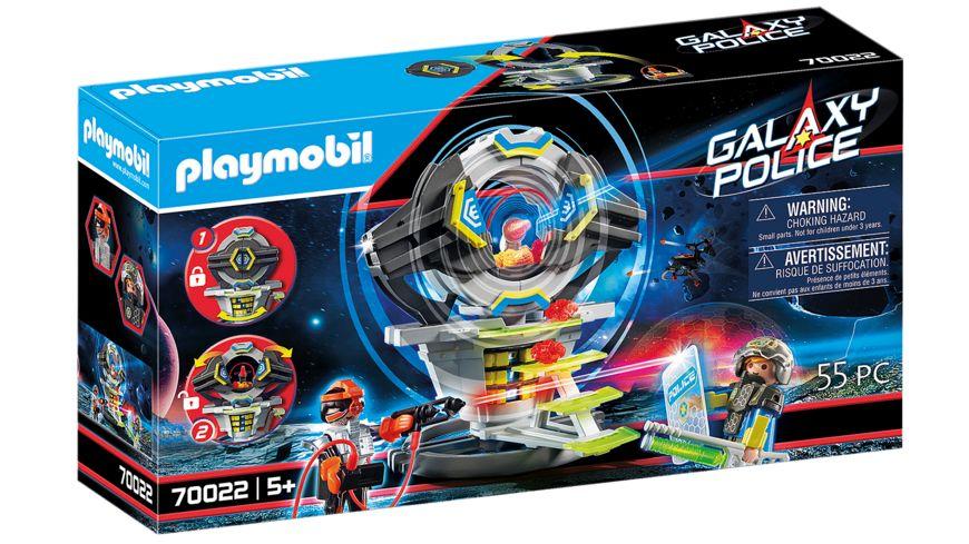 PLAYMOBIL 70022 - Galaxy Police - Tresor mit Geheimcode