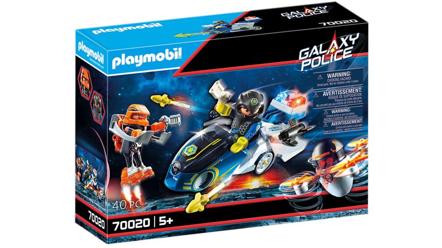 PLAYMOBIL 70020 - Galaxy Police - Galaxy Police-Bike