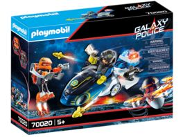 PLAYMOBIL 70020 Galaxy Police Galaxy Police Bike
