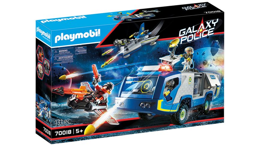 PLAYMOBIL 70018 - Galaxy Police - Galaxy Police-Truck
