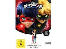 Miraculous Staffelbox 1 2 DVD VK 6 DVDs