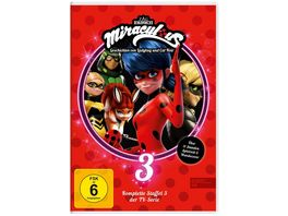 Miraculous Staffelbox 3 3 DVDs