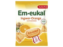 Em eukal Ingwer Orange