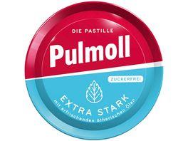 Pulmoll Extra Stark mit erfrischenden aetherischen Oelen zuckerfrei