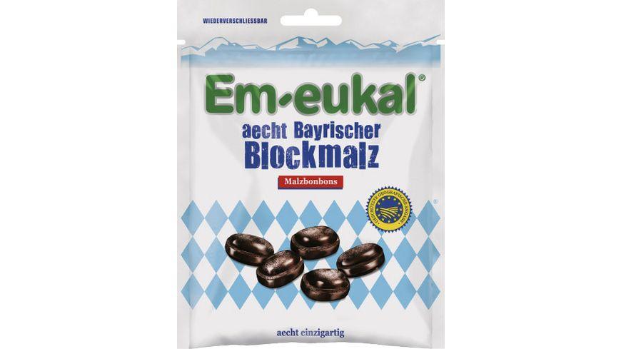Em-eukal aecht Bayrischer Blockmalz