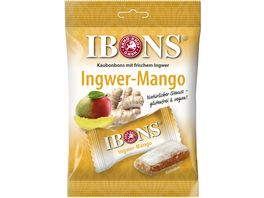 IBONS Ingwer Mango Kaubonbons