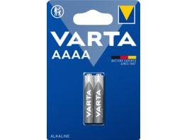 VARTA ALKALINE Spezialbatterie AAAA Mini LR8D425