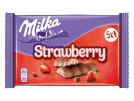Milka Riegel Choco Erdbeer