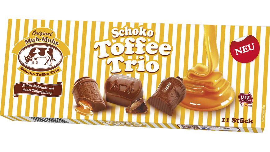 Original Muh-Muhs Schoko Toffee Trio