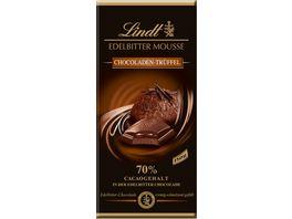 Lindt Edelbitter Mousse Chocoladen Trueffel