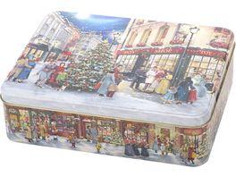 Gawol Gebaeckdose X Mas Shopping 7x20 2x26 cm