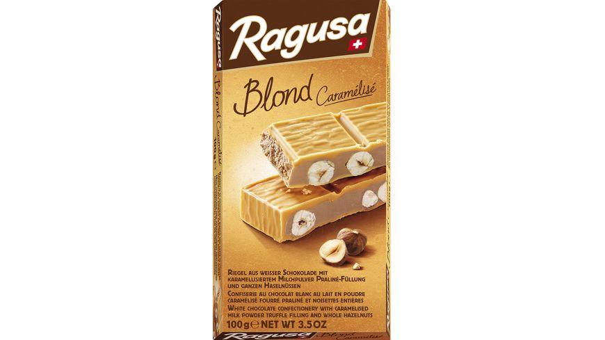 Ragusa Blond Caramélisé weisse Schokolade mit Haselnüssen