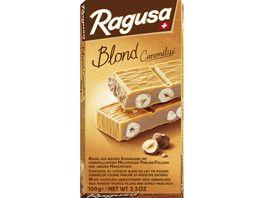 Ragusa Blond Caramelise weisse Schokolade mit Haselnuessen