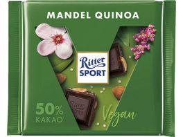 Ritter Sport Dunkel Mandel Quinoa