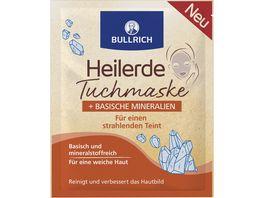 Bullrich Heilerde Tuchmaske Basische Mineralien