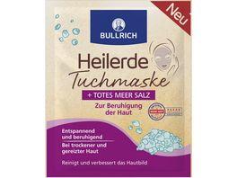 Bullrich Heilerde Tuchmaske Totes Meer Salz