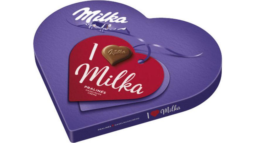 I love Milka Haselnusscrème