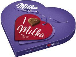 I love Milka Haselnusscreme