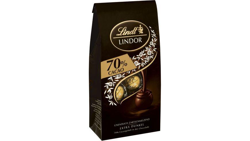 Lindt Lindor Kugeln 70 Cacao