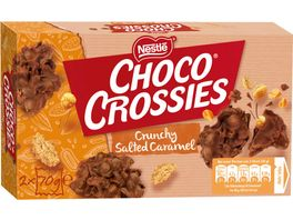 Nestle CHOCO CROSSIES Crunchy Salted Caramel