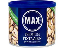 MAX Premium Pistazien Geroestet Gesalzen