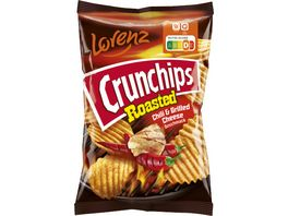 CRUNCHIPS ROASTED CHILI GRILLED CHEESE 150G 10