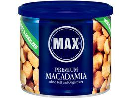 MAX Premium Macadamia Geroestet Gesalze