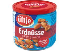 ueltje Erdnuesse pikant ohne Fett geroestet