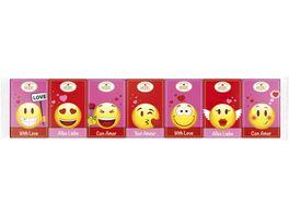 HEIDEL 7er Liebe Emoticons