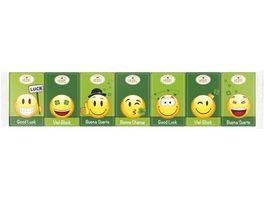 HEIDEL 7er Gluecks Emoticons