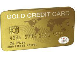 HEIDEL GOLD Kreditkarte
