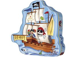 HEIDEL Piratenschiff Dose