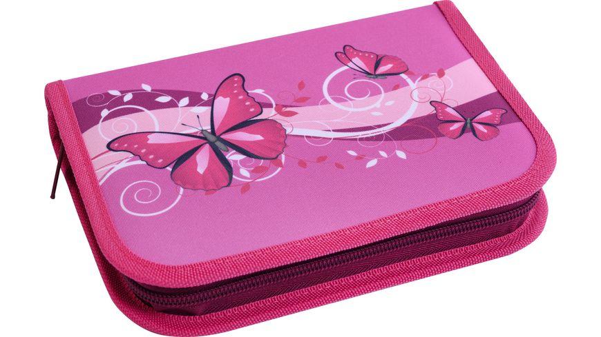 EBERHARD FABER Schüleretui Schmetterling pink