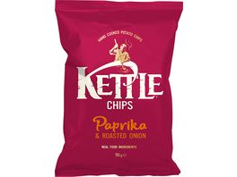 Kettle Chips Paprika roasted Onion 150 g
