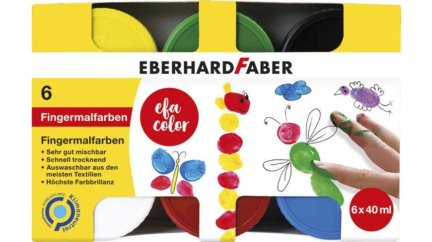 EBERHARD FABER EFA Color Fingerfarbe