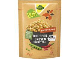 Kuehne Enjoy Knusper Erbsen Sweet Chili