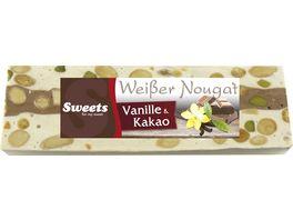 Odenwaelder Marzipan Weisser Nougat mit Vanille Kakao