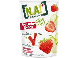 N A NATURE ADDICTS FRUCHT SNACK ERDBEERE