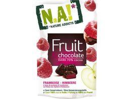 N A NATURE ADDICTS FRUCHT SNACK CHOCOLATE HIMBEER
