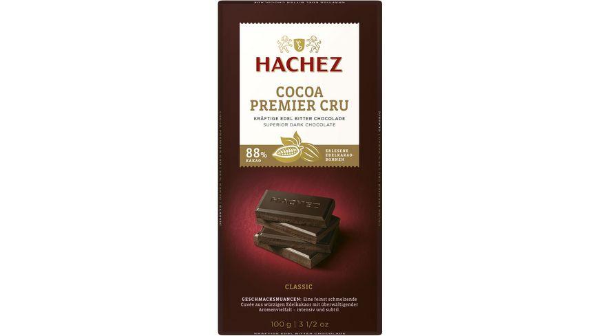 Hachez Cocoa Premier Cru Tafel 88%
