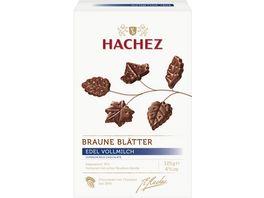 Hachez Braune Blaetter Vollmilch Chocolade