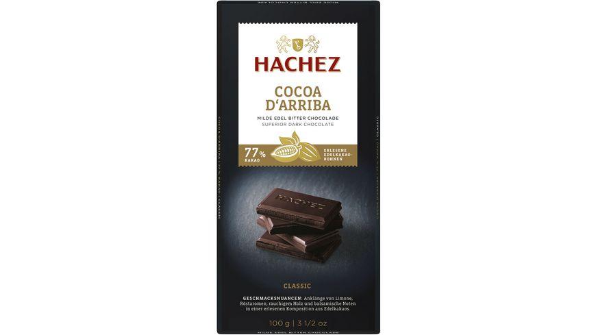 Hachez Cocoa d´Arriba Tafel Classic