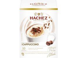 Hachez Cappuccno mit Kakaopulver