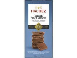 Hachez Tafel Milde Vollmilch 33 Kakaoanteil